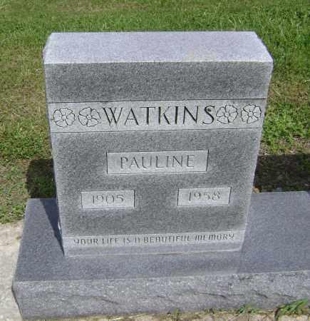 WATKINS, PAULINE - Lawrence County, Arkansas   PAULINE WATKINS - Arkansas Gravestone Photos