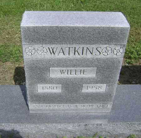WATKINS, WILLIE - Lawrence County, Arkansas | WILLIE WATKINS - Arkansas Gravestone Photos