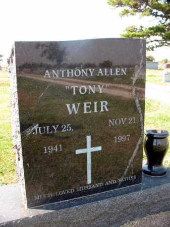 """WEIR, ANTHONY ALLEN """"TONY"""" - Lawrence County, Arkansas 