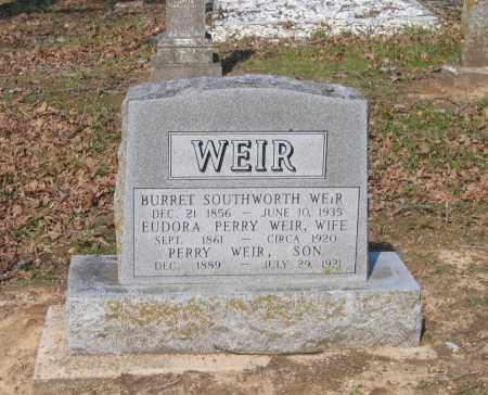 WEIR, BURRET SOUTHWORTH - Lawrence County, Arkansas | BURRET SOUTHWORTH WEIR - Arkansas Gravestone Photos