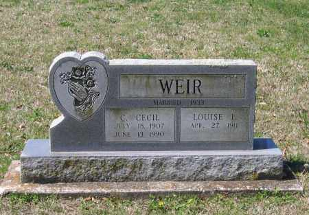 WEIR, LOUISE LEE - Lawrence County, Arkansas | LOUISE LEE WEIR - Arkansas Gravestone Photos