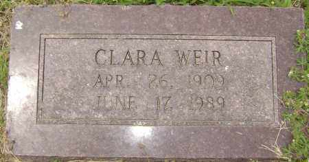 WEIR, CLARA - Lawrence County, Arkansas | CLARA WEIR - Arkansas Gravestone Photos