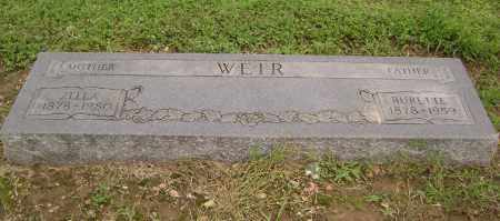 WEIR, CHARLES BURETTE - Lawrence County, Arkansas | CHARLES BURETTE WEIR - Arkansas Gravestone Photos