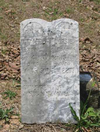 WEIR, INFANT SONS - Lawrence County, Arkansas | INFANT SONS WEIR - Arkansas Gravestone Photos