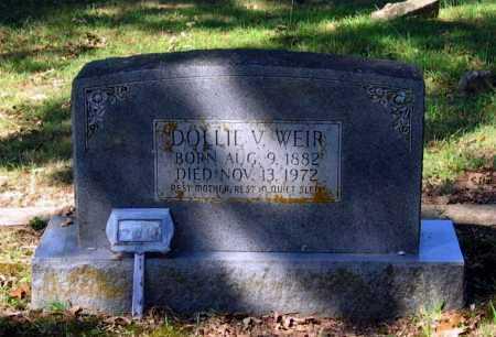 HARDEN WEIR, DOLLIE V. - Lawrence County, Arkansas | DOLLIE V. HARDEN WEIR - Arkansas Gravestone Photos