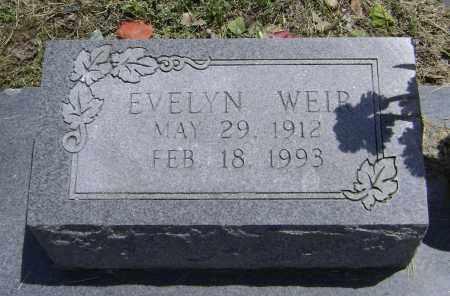 WEIR, EVELYN - Lawrence County, Arkansas | EVELYN WEIR - Arkansas Gravestone Photos