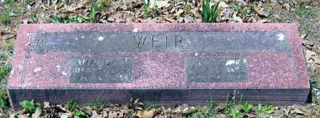 WEIR, AMANDA ELIZABETH - Lawrence County, Arkansas | AMANDA ELIZABETH WEIR - Arkansas Gravestone Photos