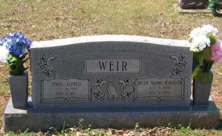 WEIR, JEWEL ALFRED - Lawrence County, Arkansas | JEWEL ALFRED WEIR - Arkansas Gravestone Photos