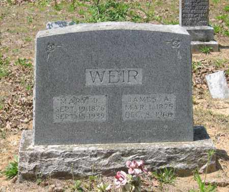 WEIR, MARY DELILAH - Lawrence County, Arkansas | MARY DELILAH WEIR - Arkansas Gravestone Photos