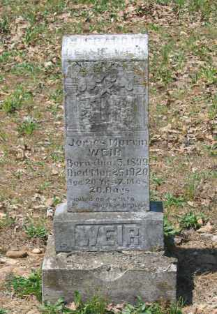 WEIR, JAMES MARVIN - Lawrence County, Arkansas | JAMES MARVIN WEIR - Arkansas Gravestone Photos