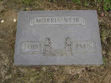 WEIR, MORRIS - Lawrence County, Arkansas | MORRIS WEIR - Arkansas Gravestone Photos
