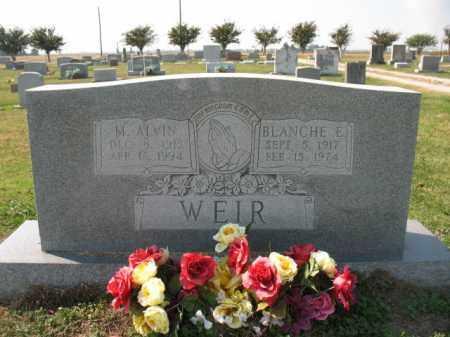 WEIR, BLANCHE E. - Lawrence County, Arkansas | BLANCHE E. WEIR - Arkansas Gravestone Photos