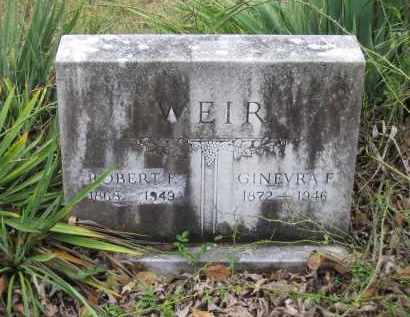 WEIR, GINEVRA F - Lawrence County, Arkansas | GINEVRA F WEIR - Arkansas Gravestone Photos