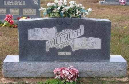 WILLMUTH, MARY VERNA - Lawrence County, Arkansas | MARY VERNA WILLMUTH - Arkansas Gravestone Photos