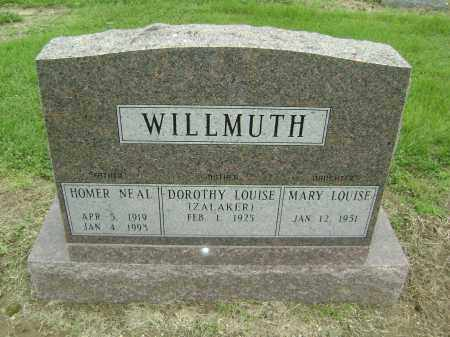 WILLMUTH, HOMER NEAL - Lawrence County, Arkansas   HOMER NEAL WILLMUTH - Arkansas Gravestone Photos