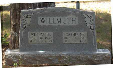 WILLMUTH, WILLIAM LOVE - Lawrence County, Arkansas | WILLIAM LOVE WILLMUTH - Arkansas Gravestone Photos