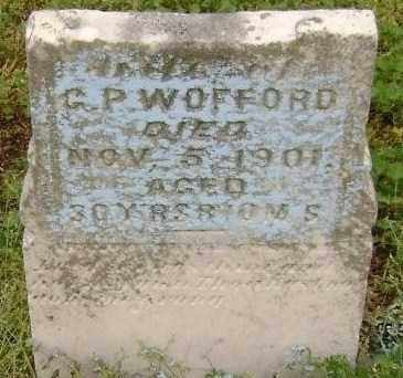 """GIBSON WOFFORD, SUSAN M. """"S. M."""" - Lawrence County, Arkansas 