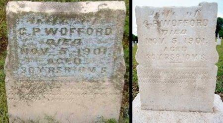 "WOFFORD, SUSAN M ""S M"" - Lawrence County, Arkansas | SUSAN M ""S M"" WOFFORD - Arkansas Gravestone Photos"