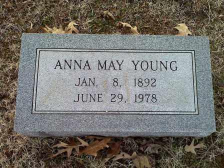 YOUNG, ANNA MAY - Lawrence County, Arkansas | ANNA MAY YOUNG - Arkansas Gravestone Photos