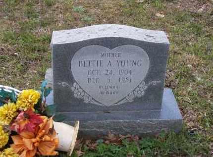 FREDERICKSON, BETTIE A. CLINTON YOUNG - Lawrence County, Arkansas | BETTIE A. CLINTON YOUNG FREDERICKSON - Arkansas Gravestone Photos