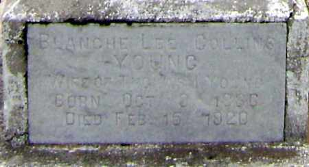 YOUNG, BLANCHE LEE COLLINS - Lawrence County, Arkansas | BLANCHE LEE COLLINS YOUNG - Arkansas Gravestone Photos