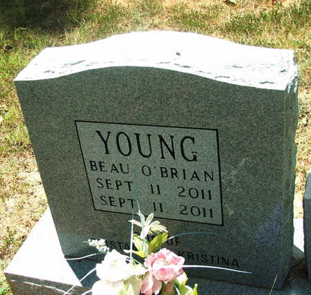 YOUNG, BEAU O'BRIAN - Lawrence County, Arkansas | BEAU O'BRIAN YOUNG - Arkansas Gravestone Photos