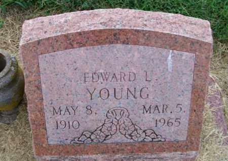 YOUNG, EDWARD L. - Lawrence County, Arkansas | EDWARD L. YOUNG - Arkansas Gravestone Photos