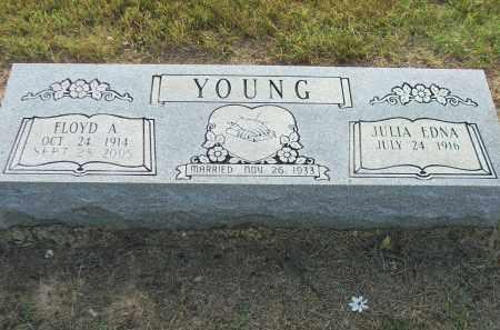 YOUNG, JULIA EDNA - Lawrence County, Arkansas | JULIA EDNA YOUNG - Arkansas Gravestone Photos