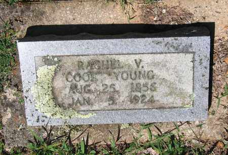 COOK YOUNG, RACHEL V - Lawrence County, Arkansas   RACHEL V COOK YOUNG - Arkansas Gravestone Photos