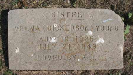 YOUNG, VELMA - Lawrence County, Arkansas | VELMA YOUNG - Arkansas Gravestone Photos