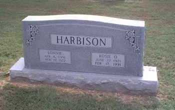 HARBISON, ROSIE ODELL - Lawrence County, Arkansas | ROSIE ODELL HARBISON - Arkansas Gravestone Photos