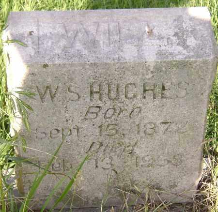 HUGHES, WILL 'W S' - Lawrence County, Arkansas | WILL 'W S' HUGHES - Arkansas Gravestone Photos