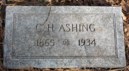 ASHING, CHARLES H - Lee County, Arkansas | CHARLES H ASHING - Arkansas Gravestone Photos