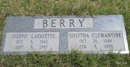 BERRY, SOLETHA CLEMANTINE - Lee County, Arkansas | SOLETHA CLEMANTINE BERRY - Arkansas Gravestone Photos