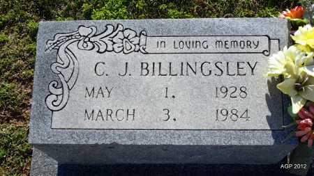 BILLINGSLEY, C J - Lee County, Arkansas   C J BILLINGSLEY - Arkansas Gravestone Photos