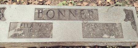 FERGUSON BONNER, ELLA VIDA - Lee County, Arkansas | ELLA VIDA FERGUSON BONNER - Arkansas Gravestone Photos