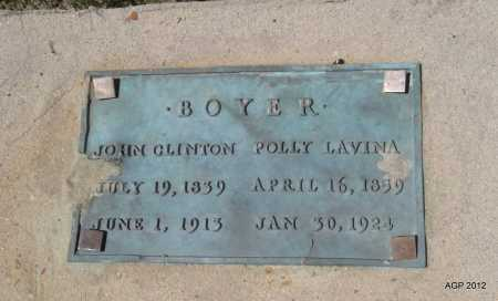 BOYER, JOHN CLINTON - Lee County, Arkansas   JOHN CLINTON BOYER - Arkansas Gravestone Photos