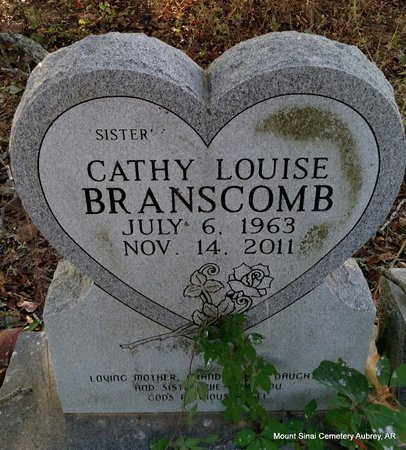 BRANSCOMB, CATHY LOUISE - Lee County, Arkansas | CATHY LOUISE BRANSCOMB - Arkansas Gravestone Photos