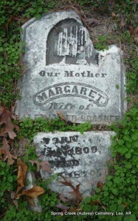 BRASHER, MARGARET - Lee County, Arkansas | MARGARET BRASHER - Arkansas Gravestone Photos