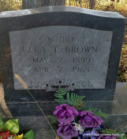 THOMAS BROWN, ELLA - Lee County, Arkansas | ELLA THOMAS BROWN - Arkansas Gravestone Photos