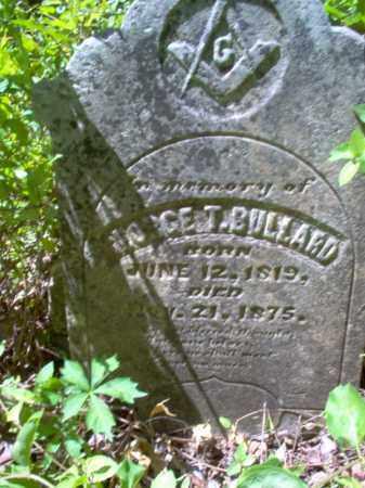 BULLARD, GEORGE T - Lee County, Arkansas   GEORGE T BULLARD - Arkansas Gravestone Photos