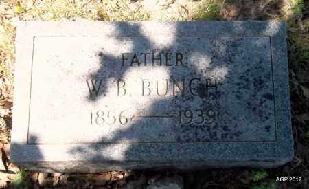 BUNCH, WILLIAM BASCOM - Lee County, Arkansas   WILLIAM BASCOM BUNCH - Arkansas Gravestone Photos