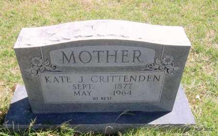 LANE CRITTENDEN, KATIE JANE - Lee County, Arkansas | KATIE JANE LANE CRITTENDEN - Arkansas Gravestone Photos