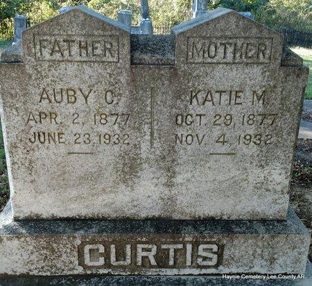 CURTIS, KATIE M - Lee County, Arkansas | KATIE M CURTIS - Arkansas Gravestone Photos