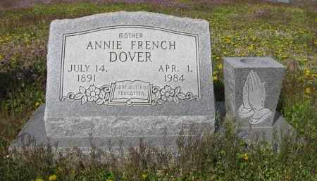 FRENCH DOVER, ANNIE - Lee County, Arkansas | ANNIE FRENCH DOVER - Arkansas Gravestone Photos