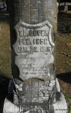 DOVER, T L - Lee County, Arkansas | T L DOVER - Arkansas Gravestone Photos