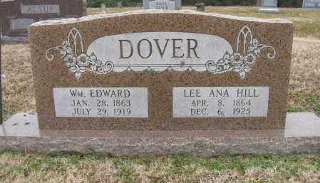 DOVER, WM. EDWARD - Lee County, Arkansas | WM. EDWARD DOVER - Arkansas Gravestone Photos