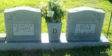 DOVER, BILLY W - Lee County, Arkansas | BILLY W DOVER - Arkansas Gravestone Photos