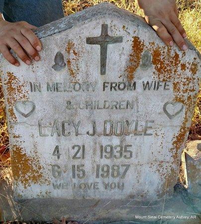 DOYLE, LACY J - Lee County, Arkansas | LACY J DOYLE - Arkansas Gravestone Photos