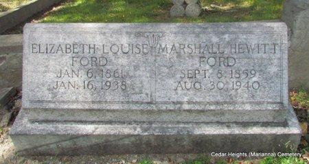 FORD, MARSHALL HEWITT - Lee County, Arkansas | MARSHALL HEWITT FORD - Arkansas Gravestone Photos